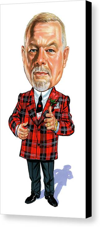 Don Cherry Canvas Print featuring the painting Don Cherry by Art