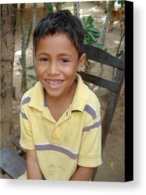 Nicaragua Canvas Print featuring the photograph Fernando by Skarleth