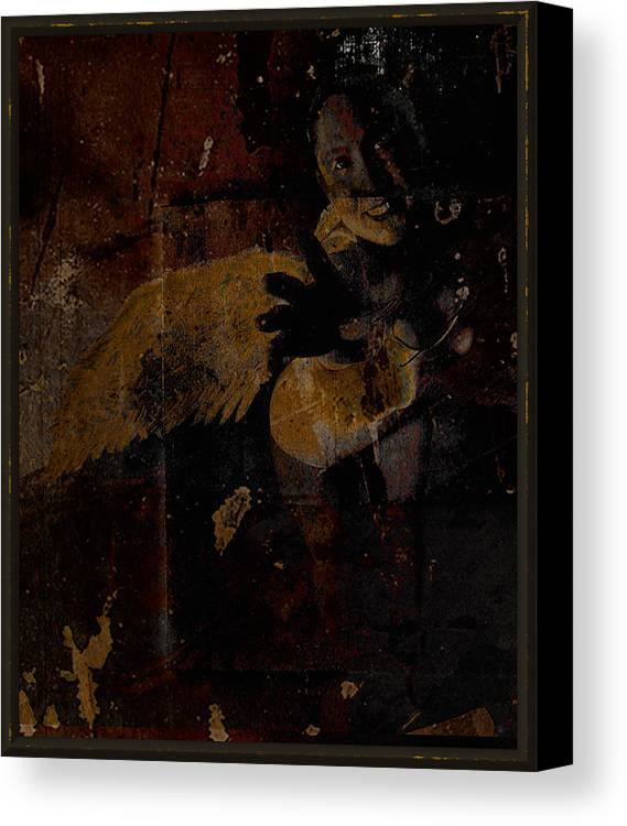 Photo Canvas Print featuring the photograph Almost An Angel by Adam Kissel