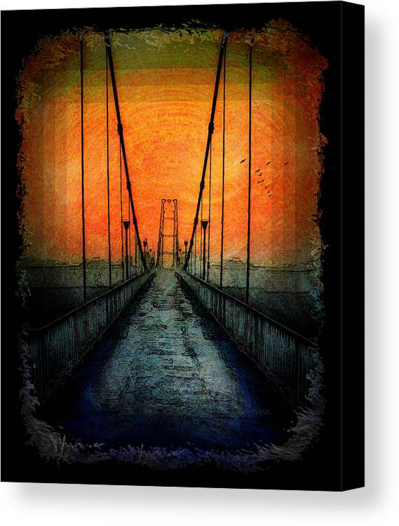 Harmony Canvas Print featuring the digital art Harmony by Mimulux patricia No