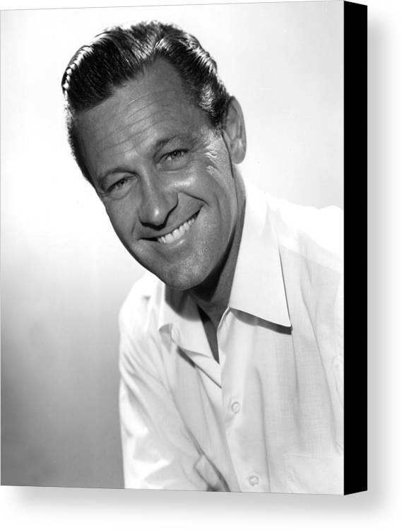 1950s Movies Canvas Print featuring the photograph Picnic, William Holden, 1955 by Everett