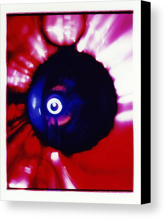 Abstract Canvas Print featuring the photograph Oracle by David Rivas