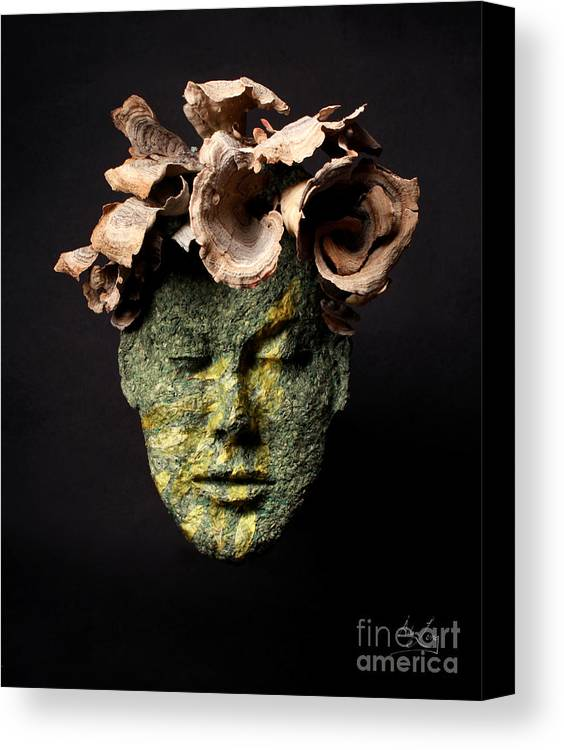 Art Canvas Print featuring the sculpture Renewal by Adam Long