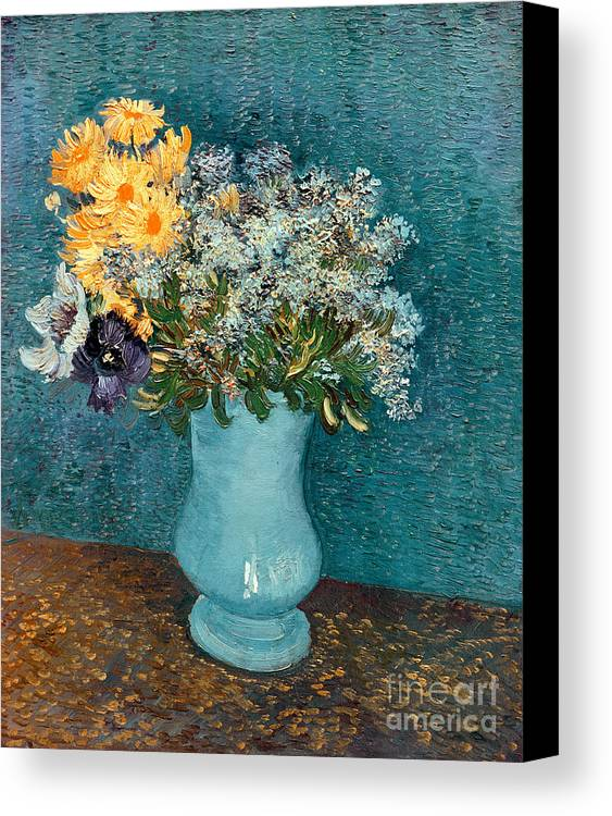 Vase Of Flowers Canvas Print Canvas Art By Vincent Van Gogh