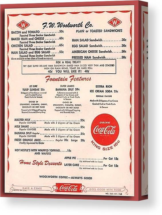 Woolworth Lunch Menu Related Keywords & Suggestions
