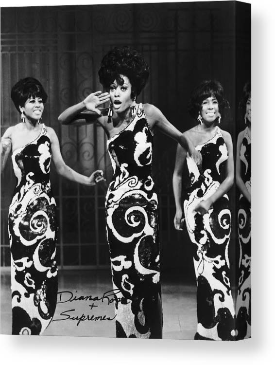 Art Print Poster Canvas Diana Ross /& The Supremes Motown Group