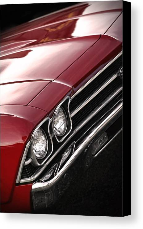 1967 Canvas Print featuring the photograph 1969 Chevrolet Chevelle Ss 396 by Gordon Dean II