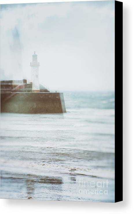 Lighthouse Canvas Print featuring the photograph Lighthouse by Amanda Elwell