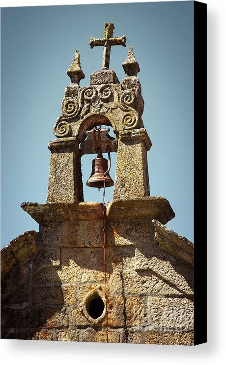 Ancient Canvas Print featuring the photograph Medieval Campanile by Carlos Caetano