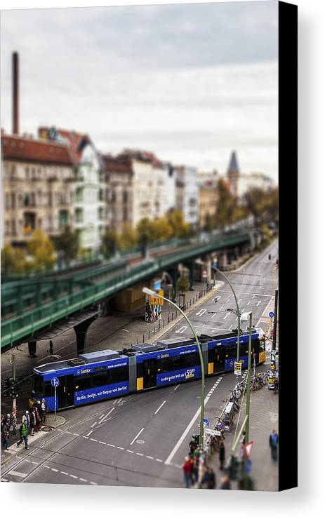 Berlin Canvas Print featuring the photograph Little Berlin by Yehuda Swed