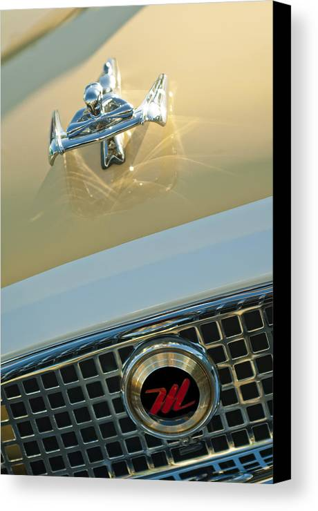 1960 Nash Metropolitan Canvas Print featuring the photograph 1960 Nash Metropolitan 3 by Jill Reger