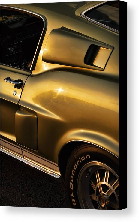 1968 Canvas Print featuring the photograph 1968 Ford Mustang Shelby Gt 350 by Gordon Dean II