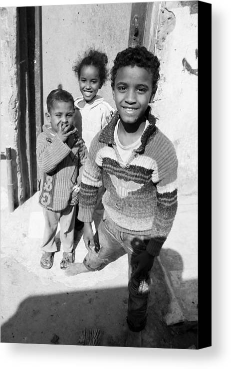 Jezcself Canvas Print featuring the photograph One For All by Jez C Self