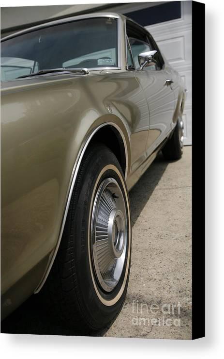 Mercury Canvas Print featuring the photograph 1967 Mercury Cougar by Wylder Flett