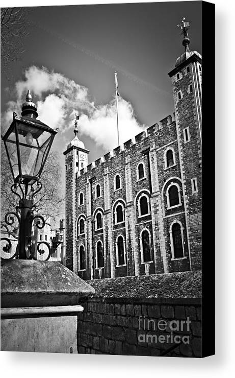 Tower Canvas Print featuring the photograph Tower Of London by Elena Elisseeva
