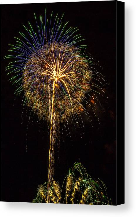 4th Of July Canvas Print featuring the photograph 4th July #13 by Diana Powell