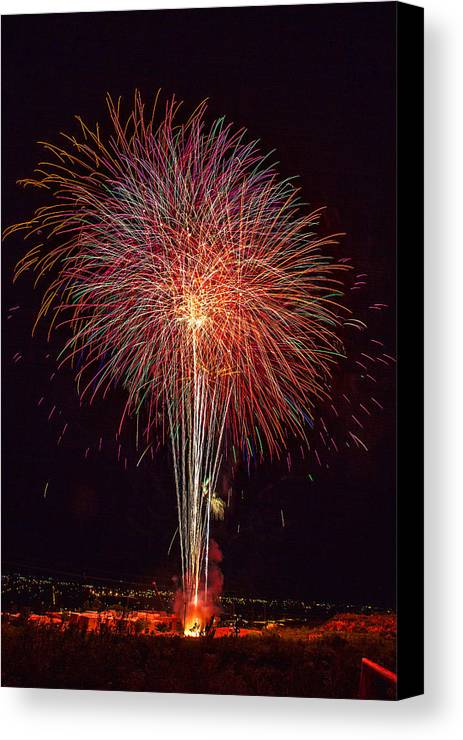 4th Of July Canvas Print featuring the photograph 4th July #8 by Diana Powell