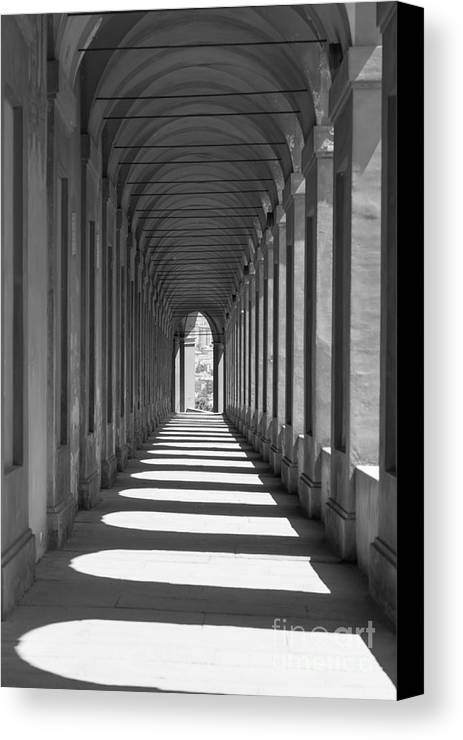 Arcade Canvas Print featuring the photograph Archway by Mats Silvan