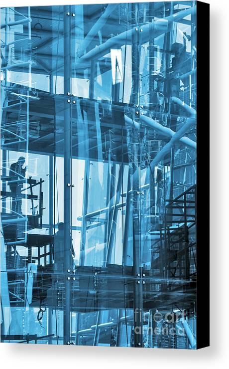 Abstract Canvas Print featuring the photograph Abstract Architecture by Carlos Caetano