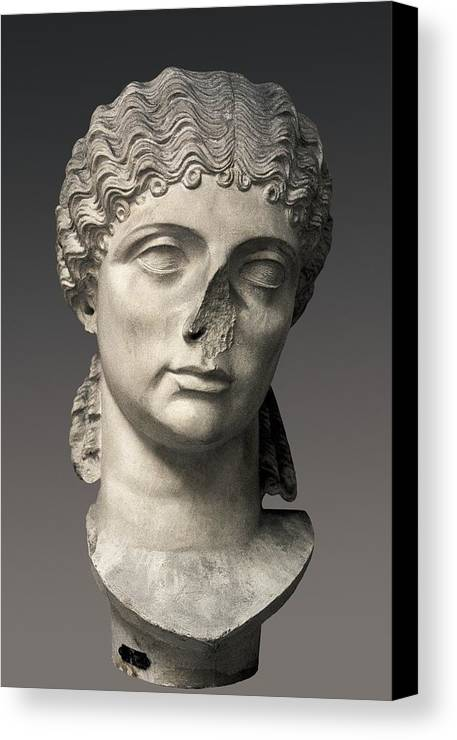Vertical Canvas Print featuring the photograph Agrippina The Elder 14bc-33. Prominent by Everett