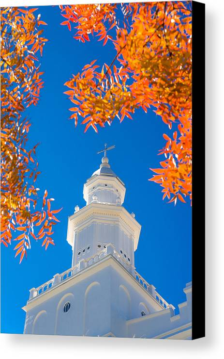 Temple Canvas Print featuring the photograph Awakening by Chad Dutson