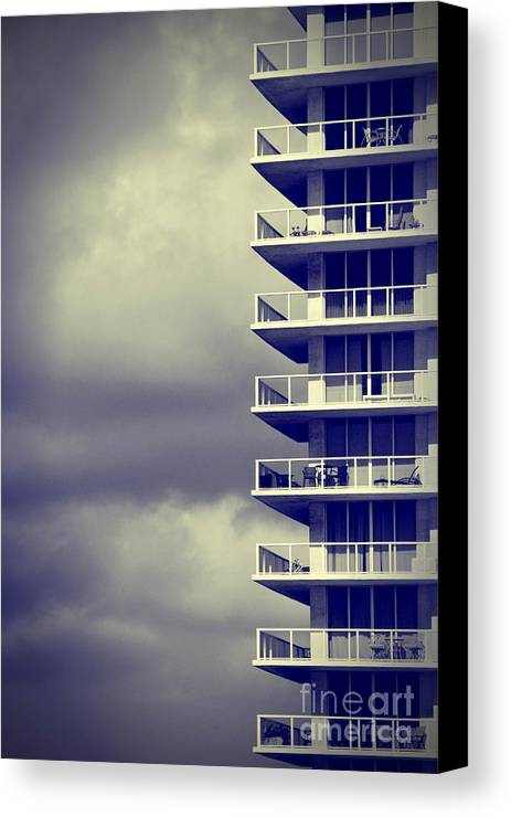 Apartment Canvas Print featuring the photograph Balcony Study by Amy Cicconi