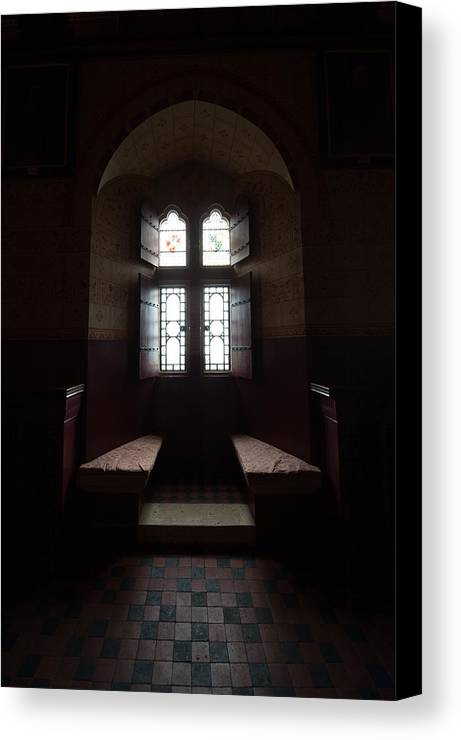 Castle Coch Canvas Print featuring the photograph Beyond Castle Walls by Dawn Duffield