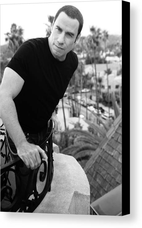 Roof Canvas Print featuring the photograph Black And White by Rav Holly