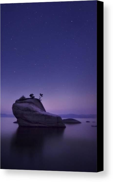 Bonsai Canvas Print featuring the photograph Bonsai Island by Sean Foster