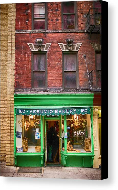 Store Canvas Print featuring the photograph Bread Store New York City by Garry Gay
