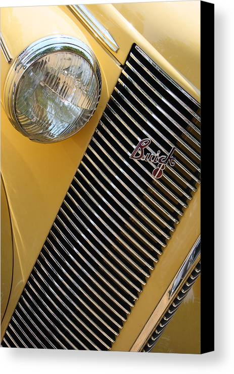 Buick Canvas Print featuring the photograph Buick8 by Rebecca Cozart