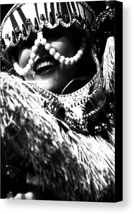 Carnival Canvas Print featuring the photograph Carnival In Brazil V by Luciano Trevisan