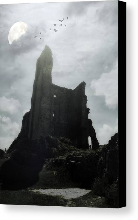 Ruin Canvas Print featuring the photograph Castle Ruin by Joana Kruse