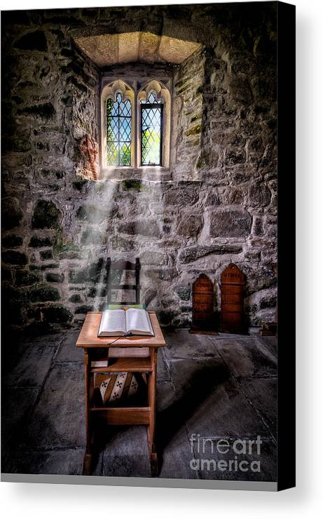 British Canvas Print featuring the photograph Chapel Light by Adrian Evans