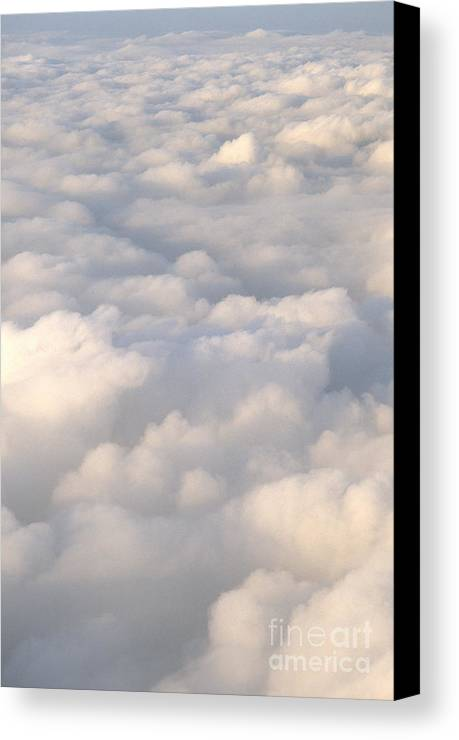 Air Canvas Print featuring the photograph Clouds by Chris Selby
