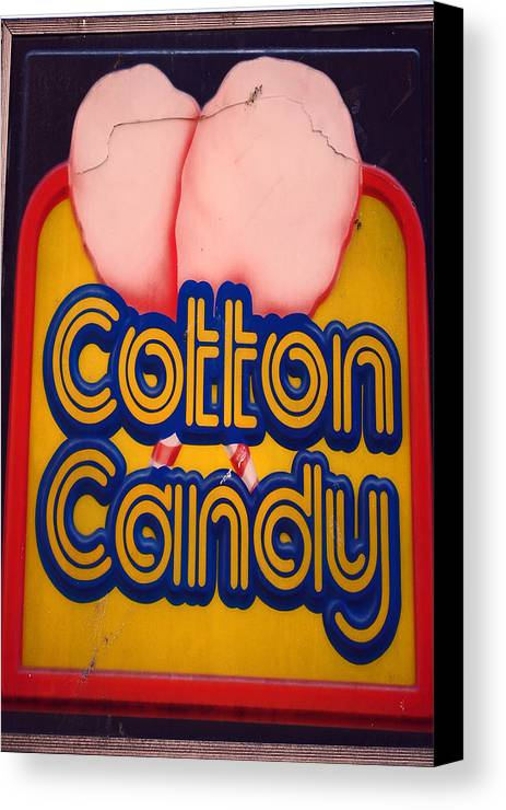 Fair Canvas Print featuring the photograph Cotton Candy by Skip Willits