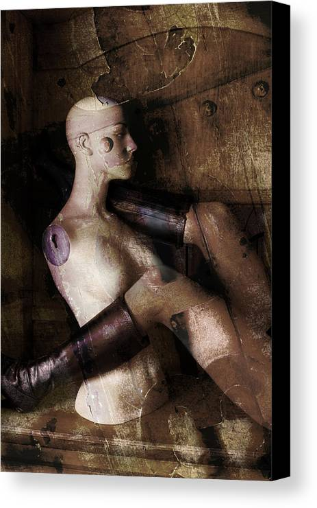 Manaquin Canvas Print featuring the photograph Desire by Andrew Giovinazzo