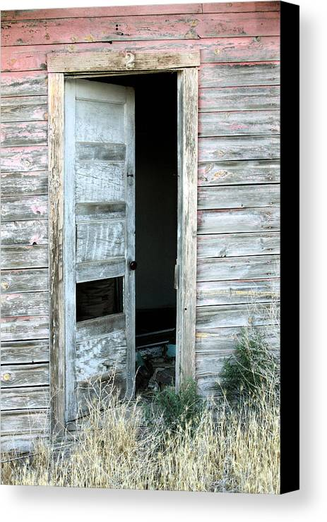 History Canvas Print featuring the photograph Door Two by John Nelson