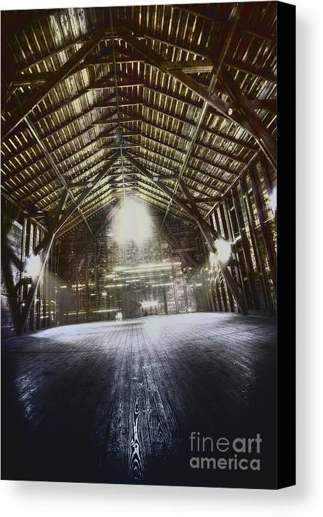 Barn Canvas Print featuring the photograph Expanse by Margie Hurwich