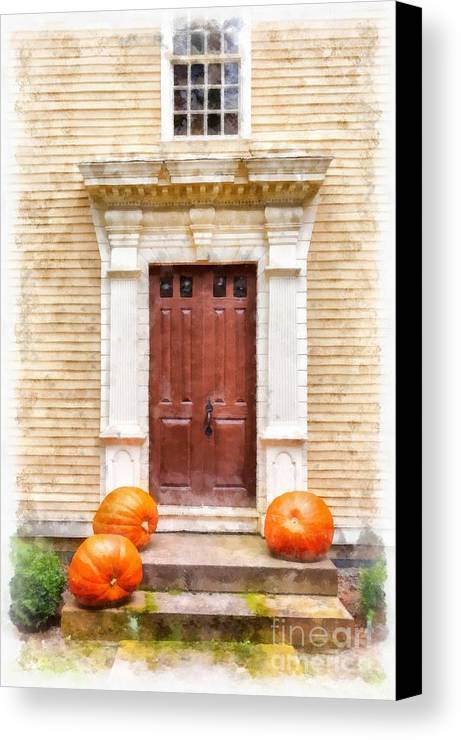 Fall Canvas Print featuring the photograph Fall Harvest by Edward Fielding