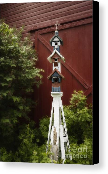 Barn Canvas Print featuring the photograph For The Birds by Margie Hurwich