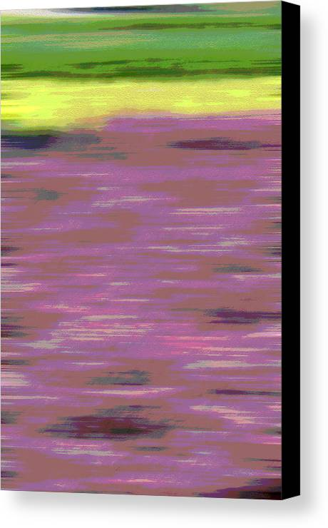 Abstract Canvas Print featuring the photograph Garden Abstract by Suzanne Gaff