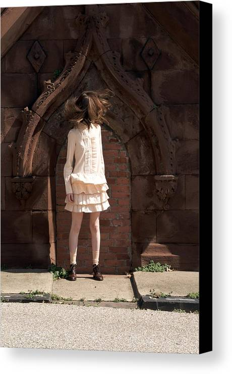 Girl Canvas Print featuring the photograph Girl by Nicholas Rudolf