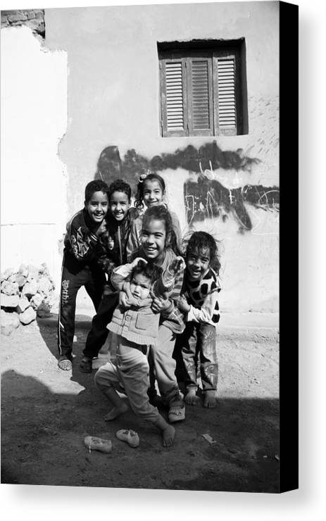 Jezcself Canvas Print featuring the photograph Here We Gather Daily by Jez C Self