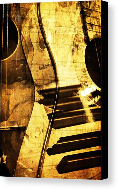 Music Canvas Print featuring the photograph High On Music by Randi Grace Nilsberg