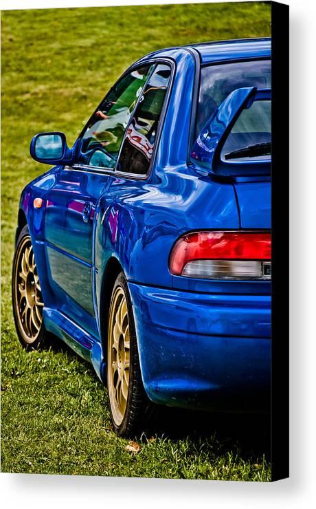 Subaru Impreza Canvas Print featuring the photograph Impreza 22b by Phil 'motography' Clark