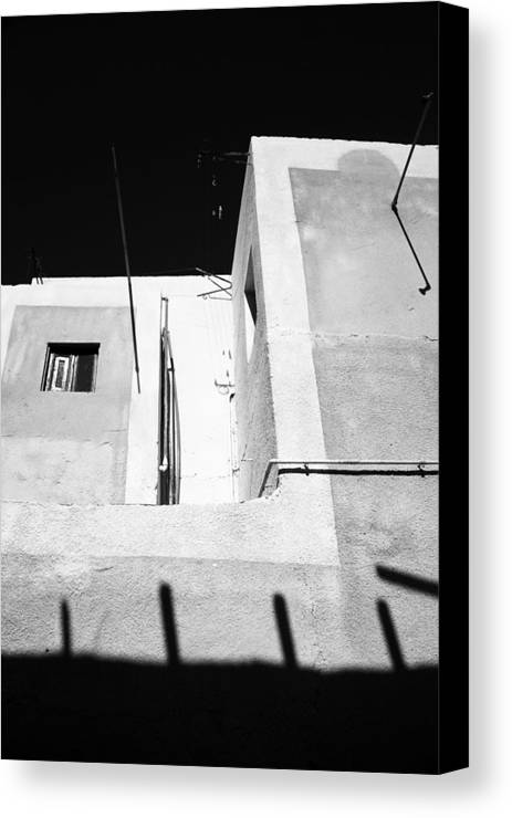 Jezcself Canvas Print featuring the photograph Is This An Alley by Jez C Self