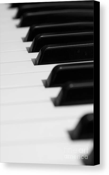 Accord Canvas Print featuring the photograph Keyboard by Svetlana Sewell