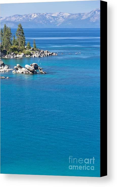 America Canvas Print featuring the photograph Lake Tahoe by Mariusz Blach