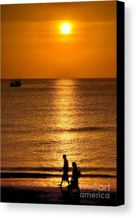 Asia Canvas Print featuring the photograph Life Is Beautiful by Adrian Evans